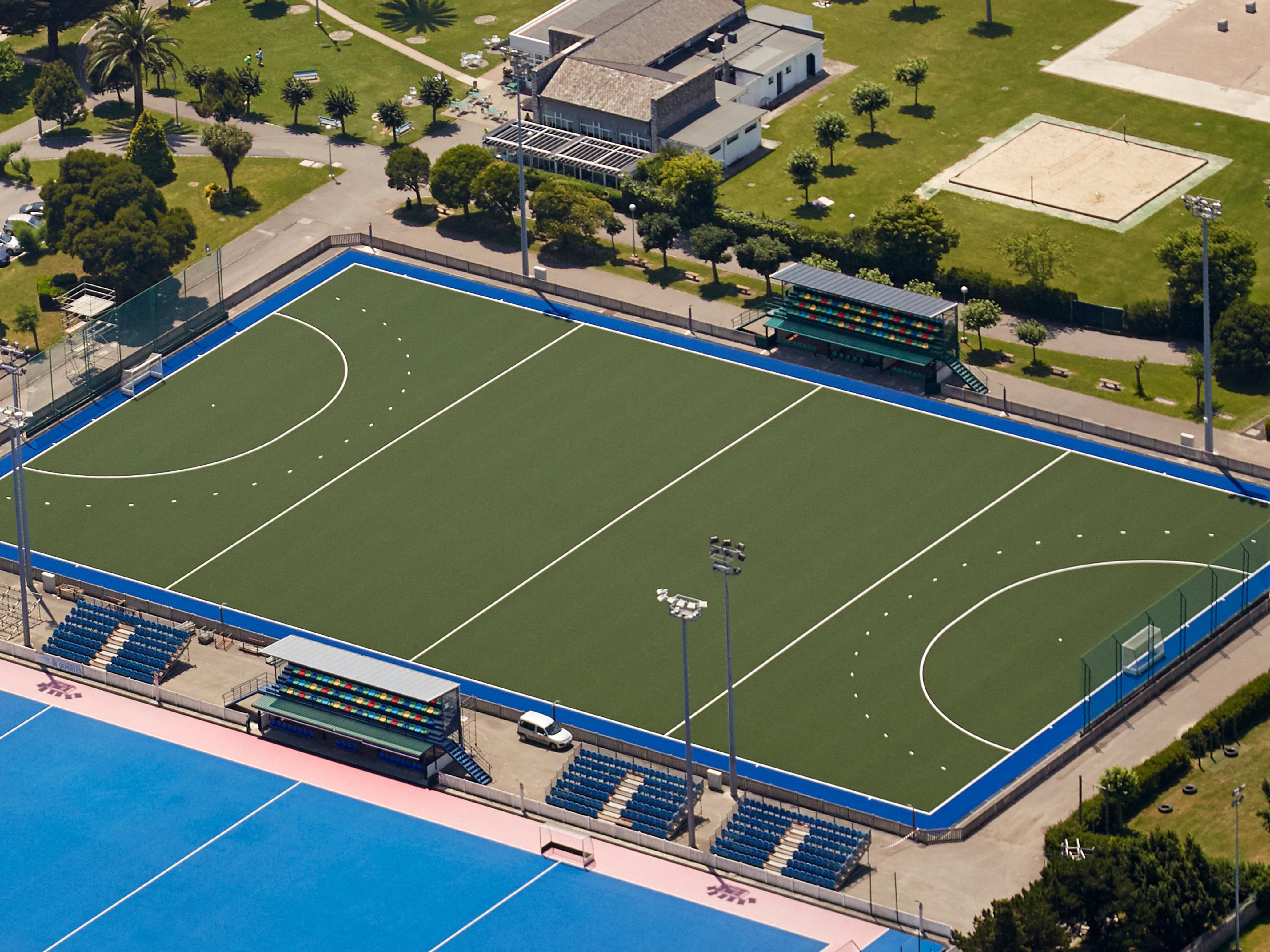 Campo de Hockey en el C.D. Ruth Beitia, Santander Image