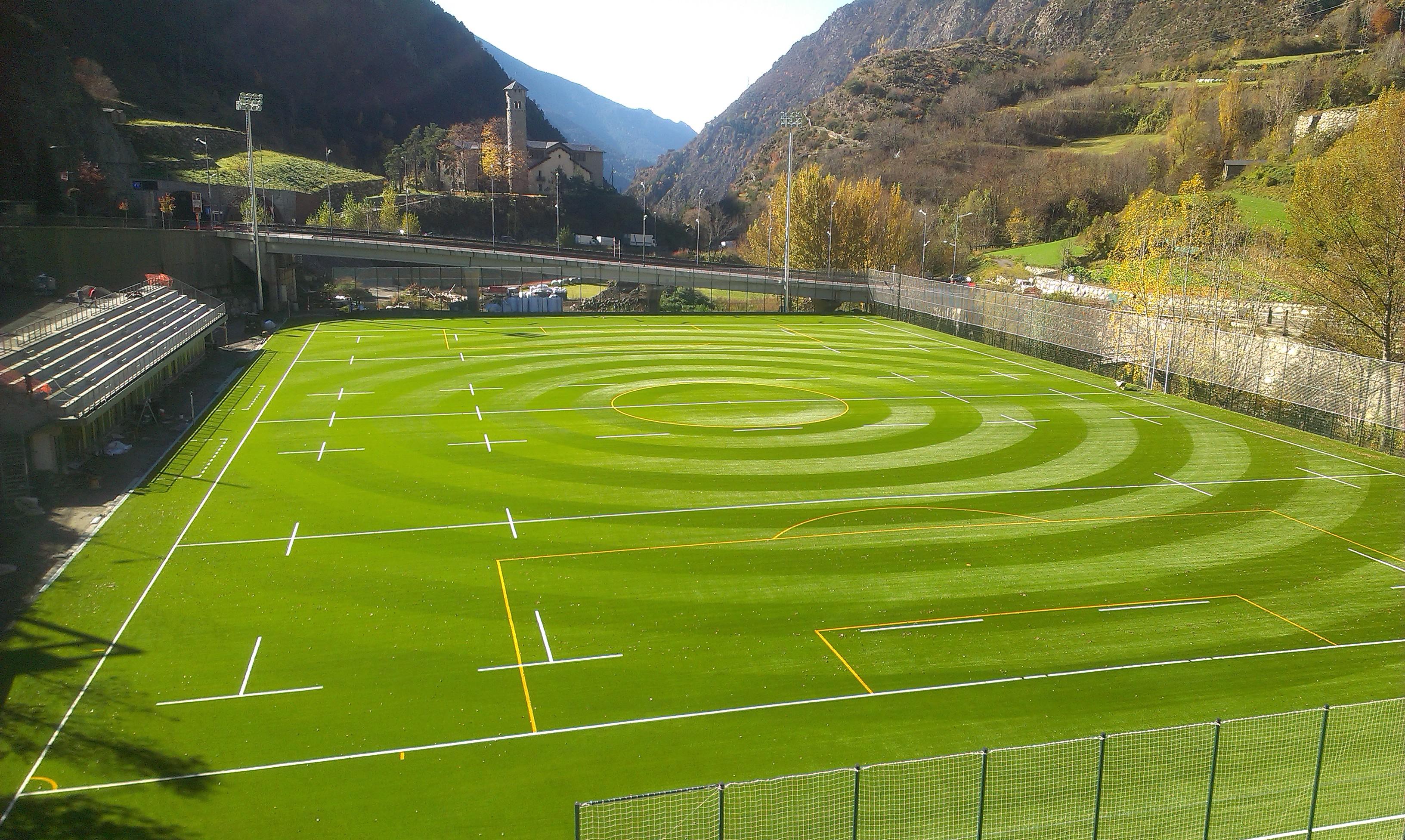 Camp de Rugby Prada de Moles, Encamp, Andorra Image