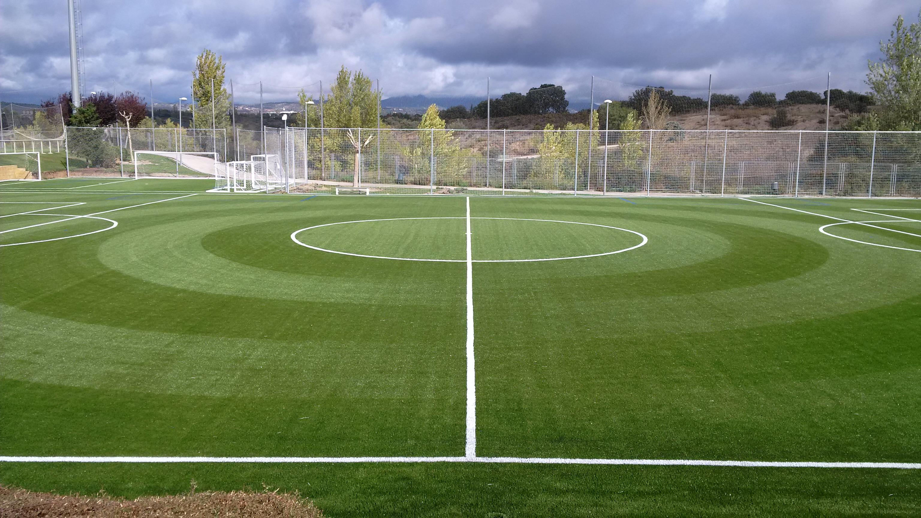 Campo de Fútbol 7 y Area de Entrenamiento de Porteros en la Ciudad del Fútbol – RFEF, Las Rozas, Madrid Image