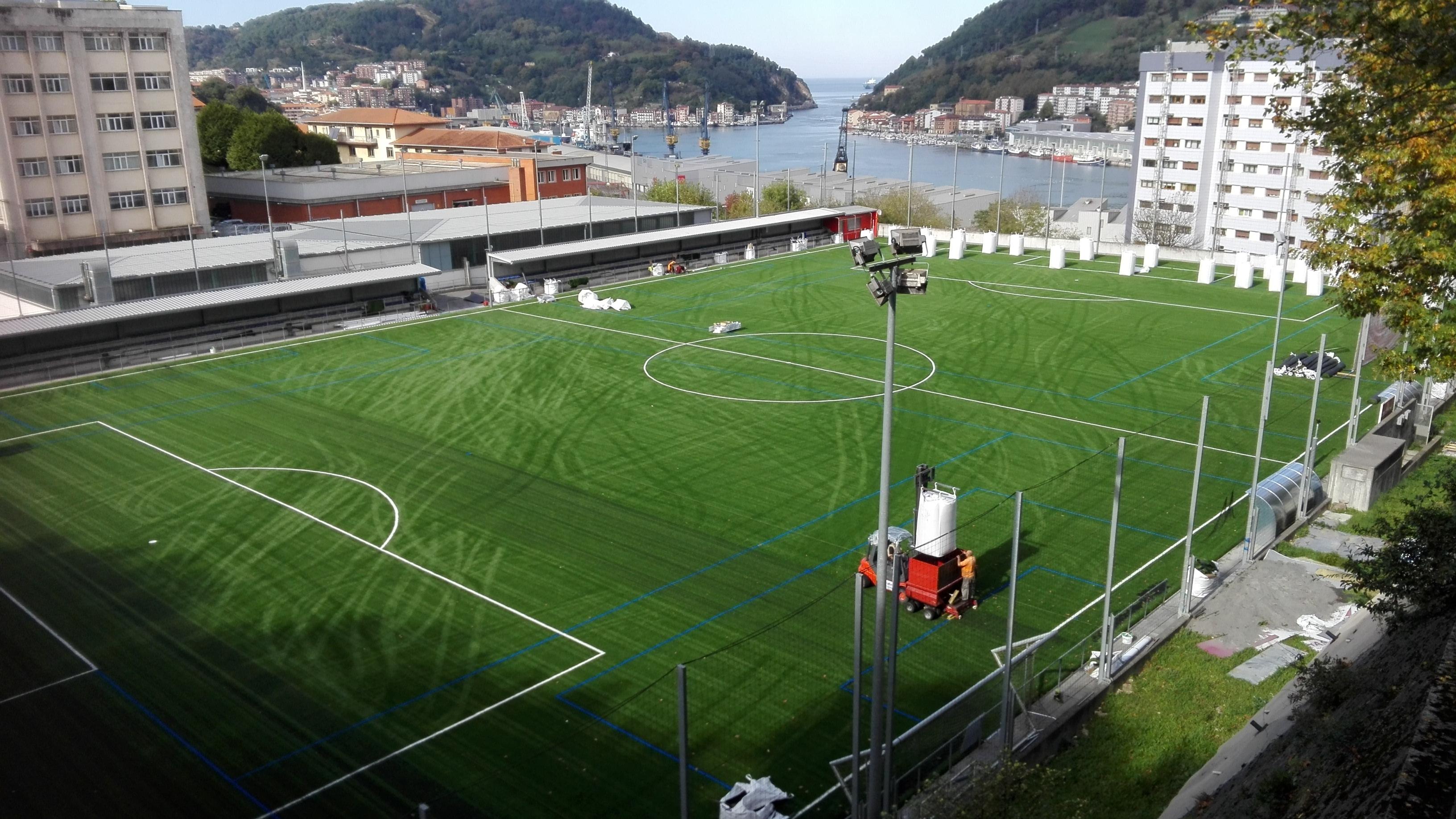 Campo de Fútbol  Instituto Don Bosko Pasaia, Guipuzkoa Image