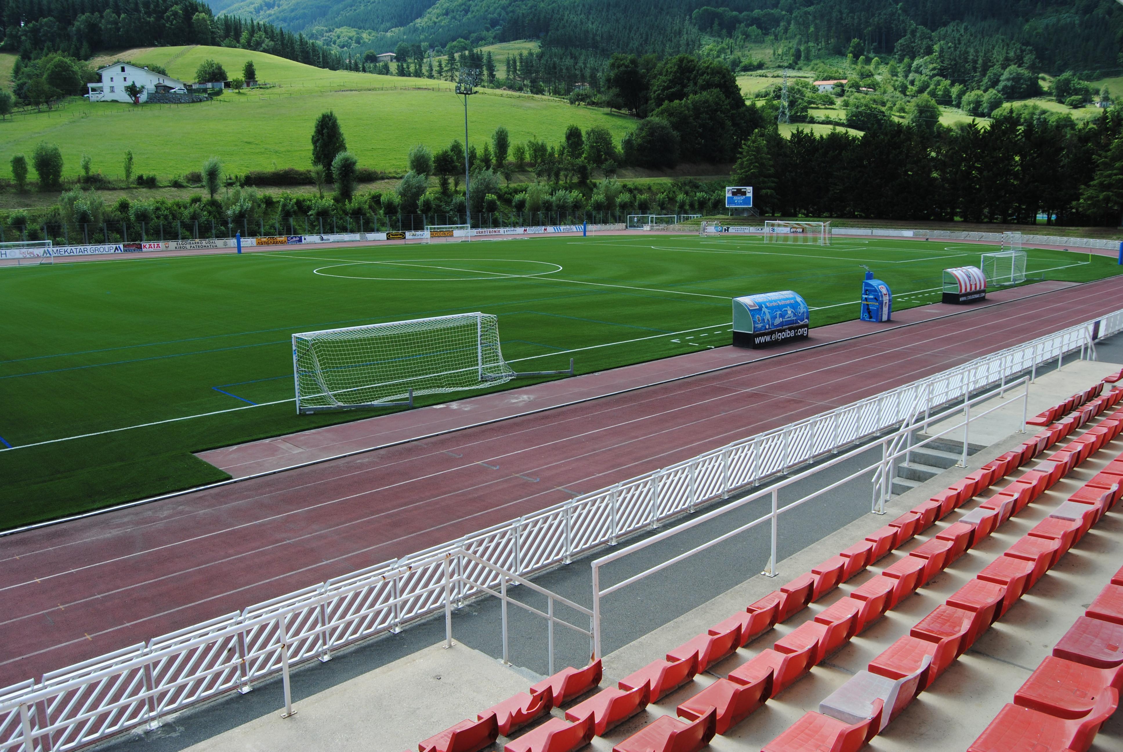 Campo de Fútbol de Mintxeta, Elgoibar, Guipuzcoa Image