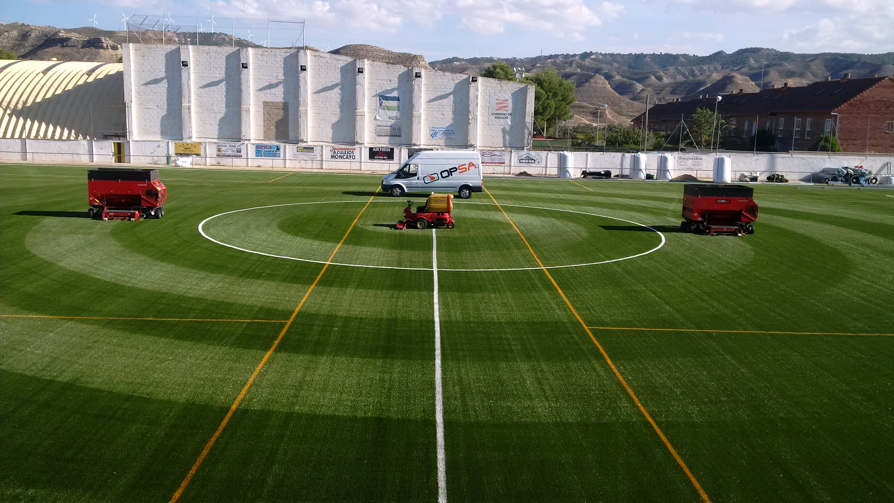 Campo de Fútbol Maria de Huerva, Zaragoza Image