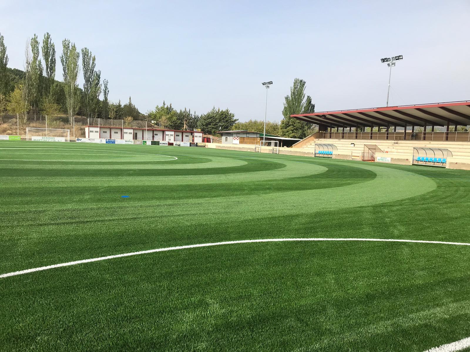 Campo de Fútbol Puente La Reina – Osabidea, Navarra Image