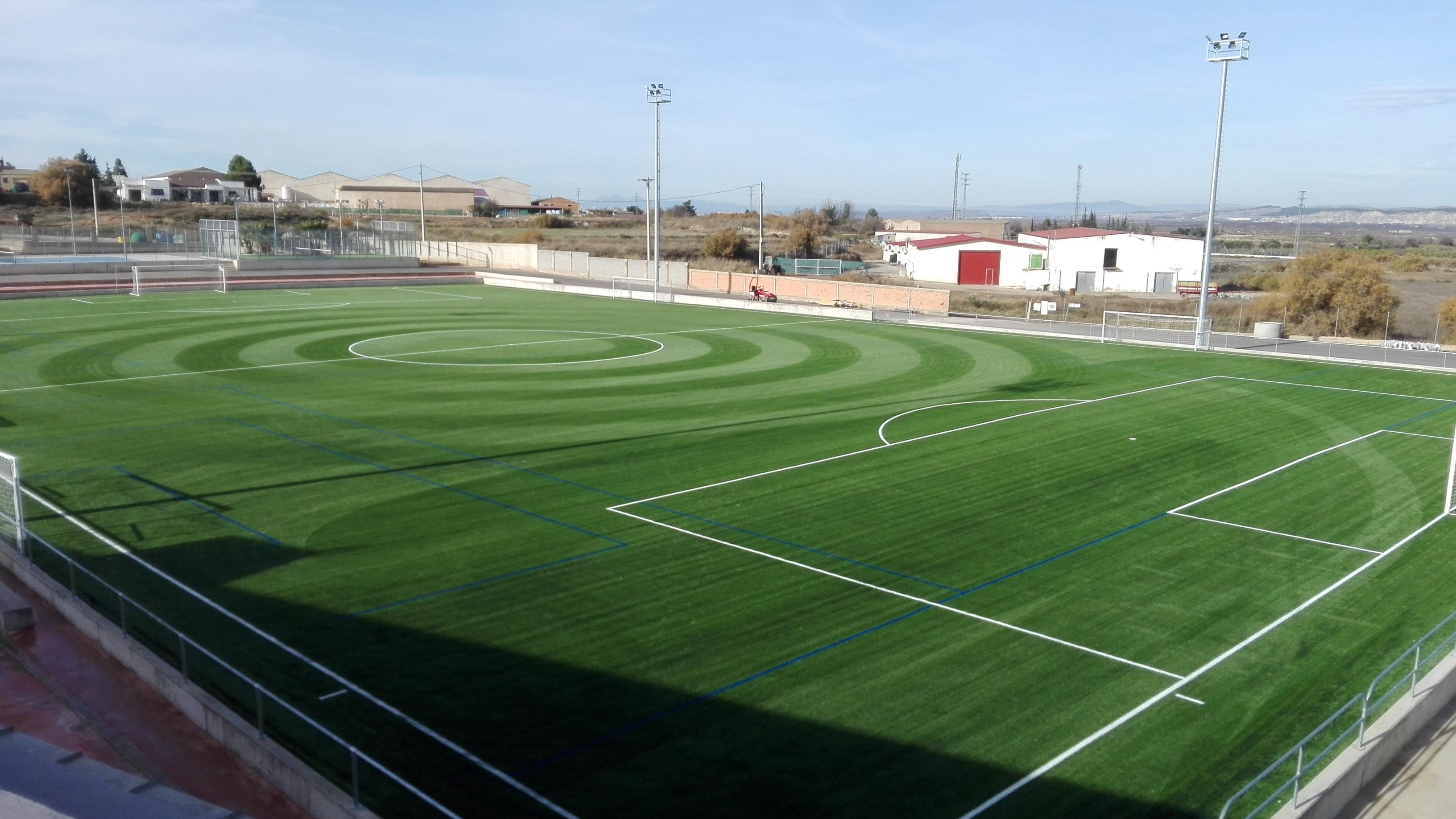 Transformación de campo de Fútbol a césped artificial en Complejo deportivo municipal de Aldeanueva de Ebro, La Rioja Image