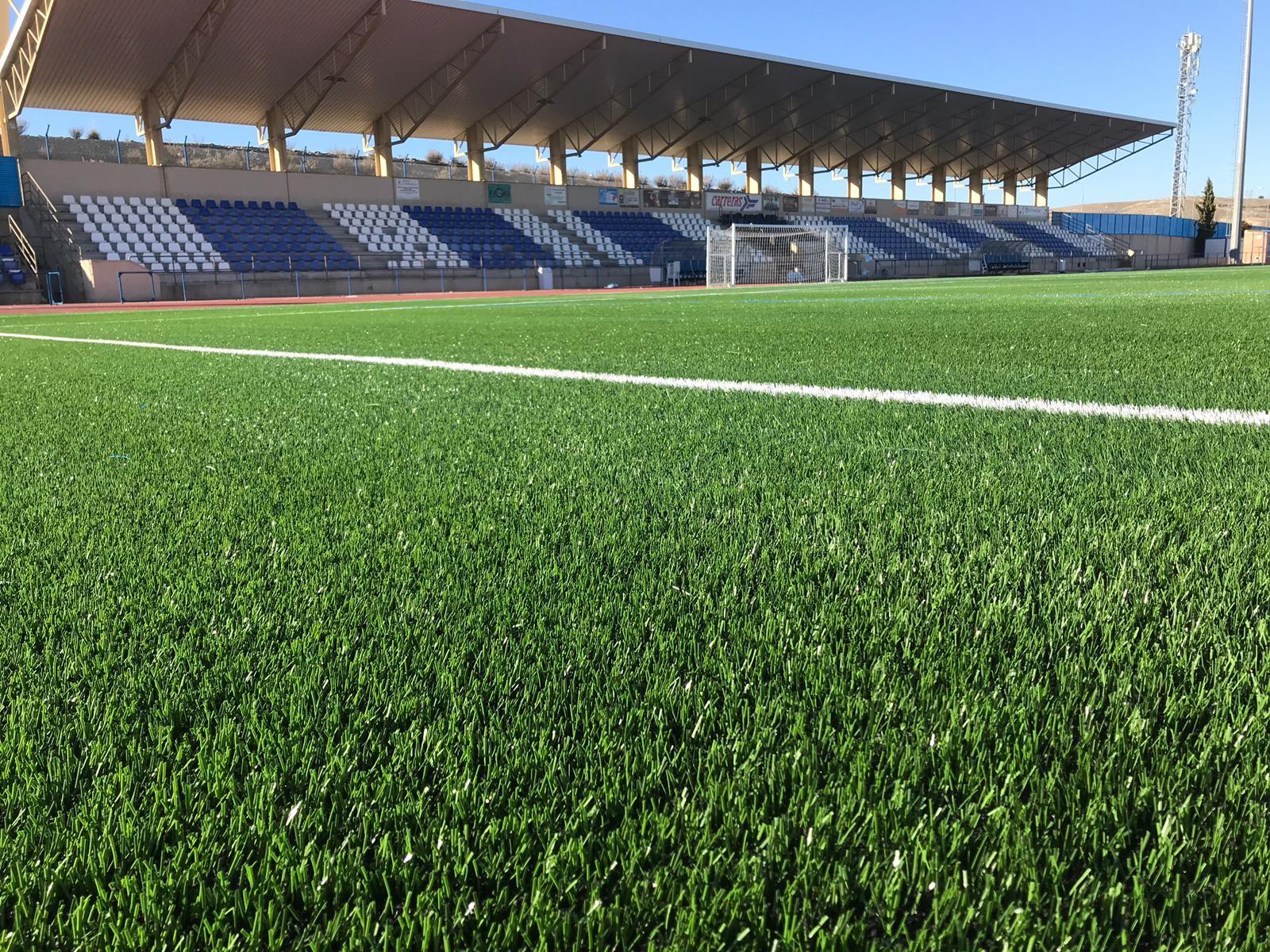 Renovación de Césped Artificial del Campo de Fútbol de la Urbanización El Quiñón, Toledo Image
