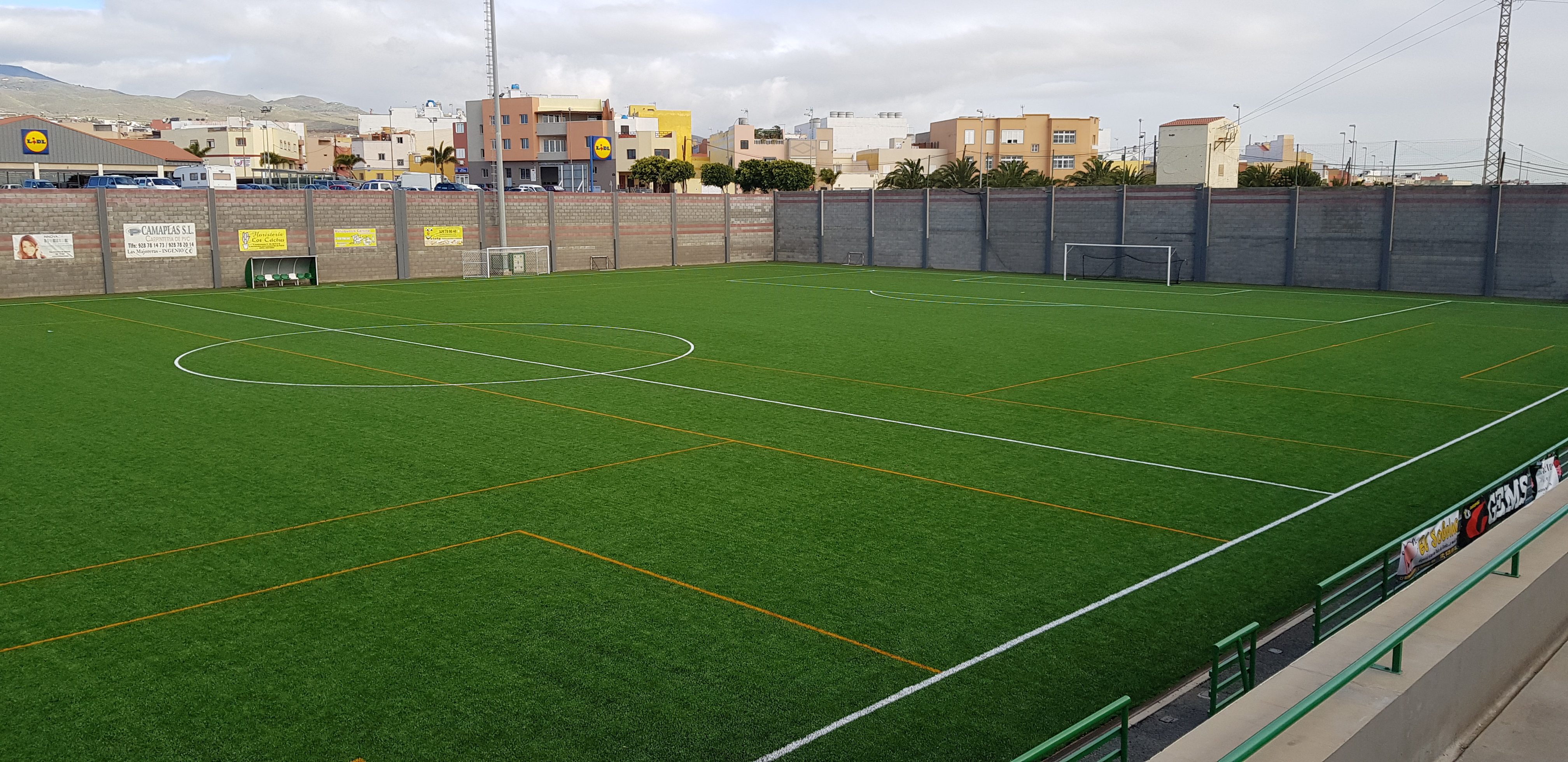 Campo de fútbol Municipal «Pancho Ramirez», Ingenio Image