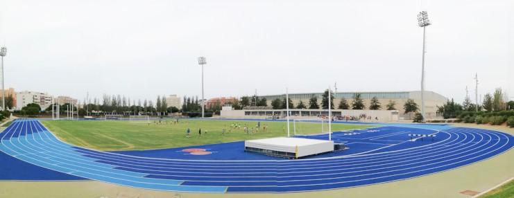 Pista Atletismo Anexo Estadio Juegos del Mediterráneo Image