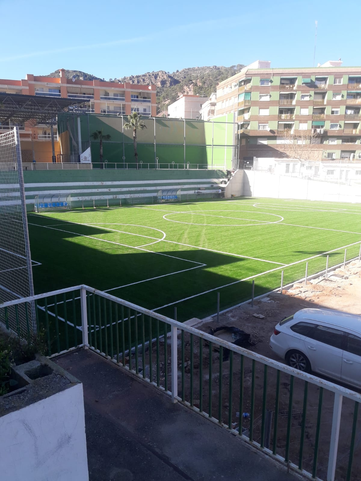 Campo de Fútbol 7 de Serra (Valencia) Image