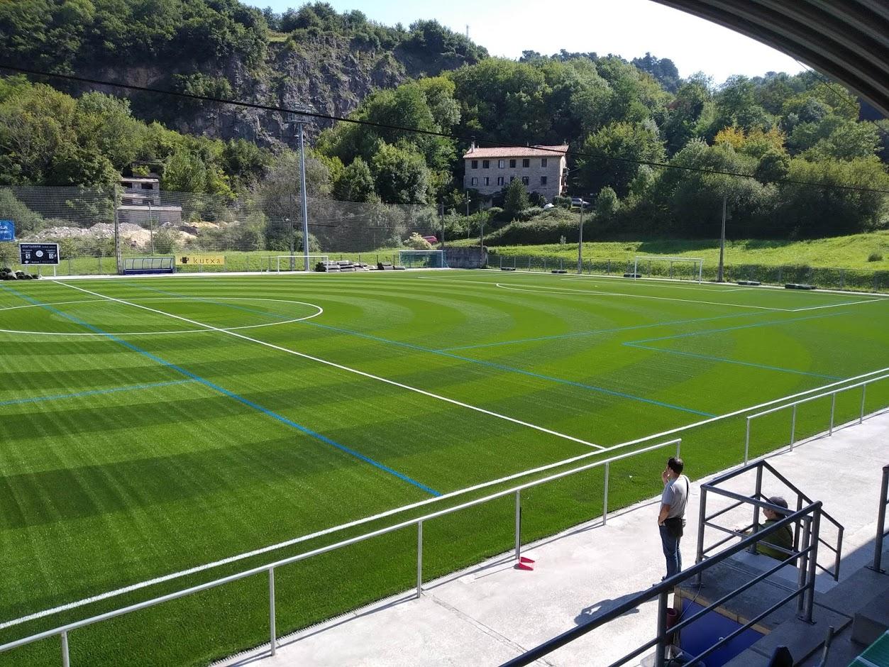 Campo de Fútbol de Martutene en San Sebastian (Guipuzcoa) Image